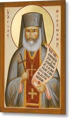 St Philoumenos Paintings Metal Prints