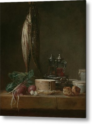 Still Life With Fish Metal Prints