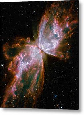 Bipolar Nebula Metal Prints