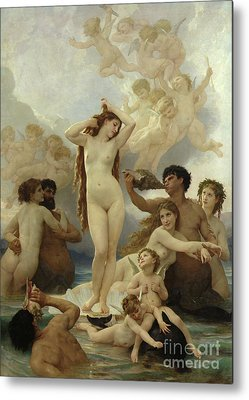 Goddess Mythology Paintings Metal Prints