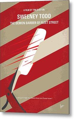Barber Shop Metal Prints