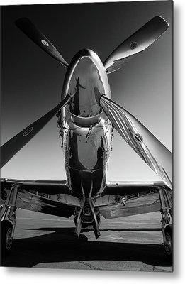 Black And White Art Metal Prints