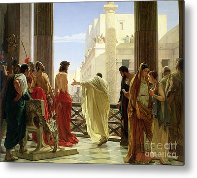 Pontius Pilate Metal Prints