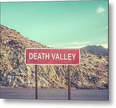 Death Valley Metal Prints