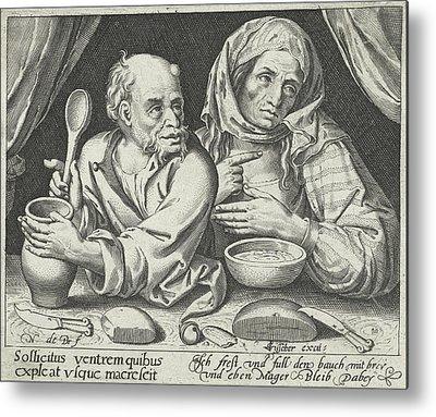 Porridge Drawings Metal Prints