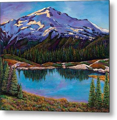 Utah Mountains Metal Prints