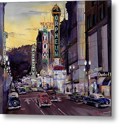 Mike Hill Metal Prints