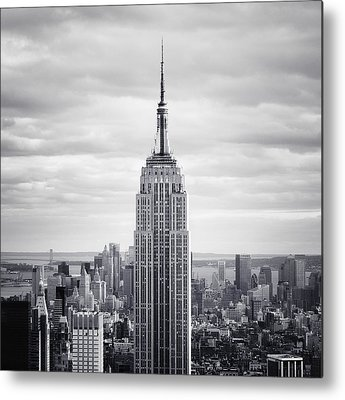 New York City Skyline Metal Prints