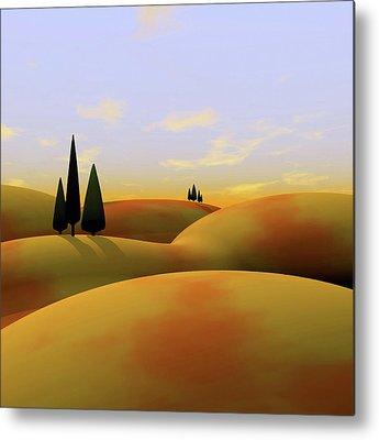 Landscapes Metal Prints