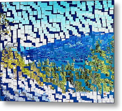 Breaking Away To Donner Lake Metal Print