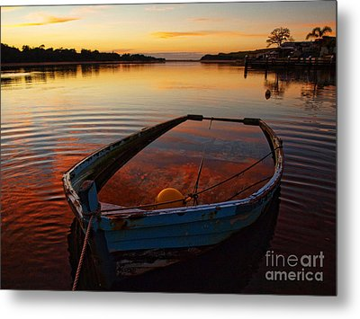 Metal Print featuring the photograph  Ripples by Trena Mara