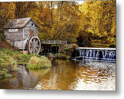 0722 Hyde's Mill Metal Print by Steve Sturgill