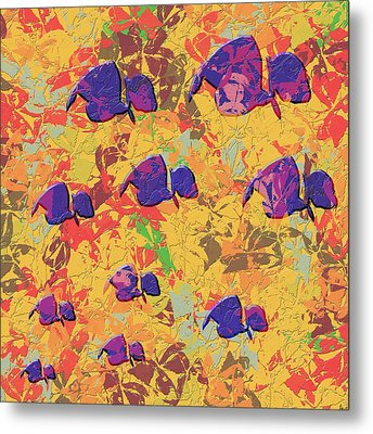 0886 Abstract Thought Metal Print by Chowdary V Arikatla