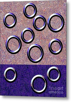 0235 Abstract Thought Metal Print by Chowdary V Arikatla