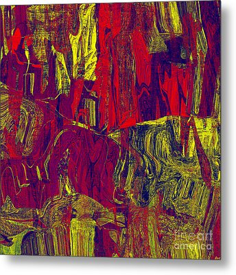 0479 Abstract Thought Metal Print by Chowdary V Arikatla