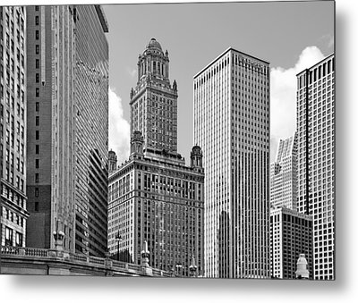 35 East Wacker Chicago - Jewelers Building Metal Print by Christine Till