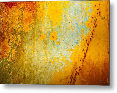 Abstract Metal Print by Mark Weaver