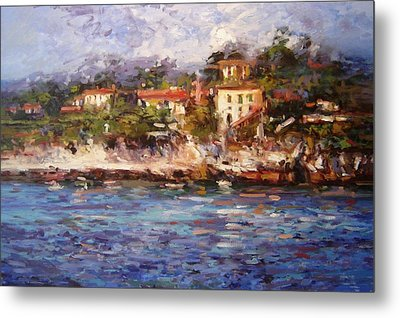 Afternoon Light In Cassis Metal Print by R W Goetting