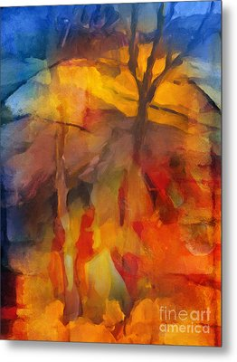 Autumn Colors Metal Print