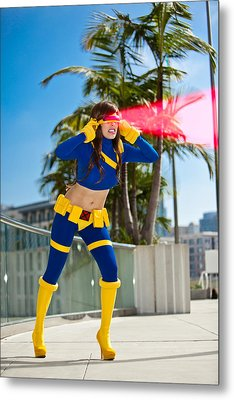 Awesome X-man Cyclops Metal Print by Andreas Schneider