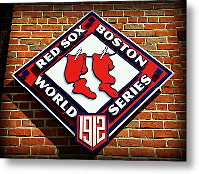 Boston Red Sox 1912 World Champions Metal Print