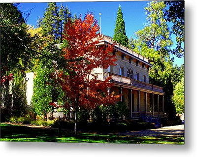 Bowers Mansion Metal Print by Lynn Bawden