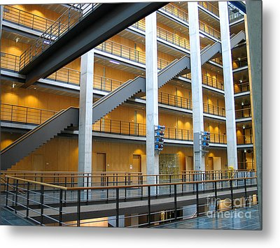 Bundestag Building Metal Print