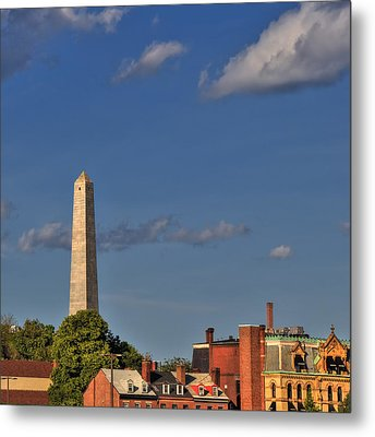 Bunker Hill Monument - Boston Metal Print by Joann Vitali