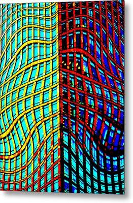 Canary Wharf London Art Metal Print