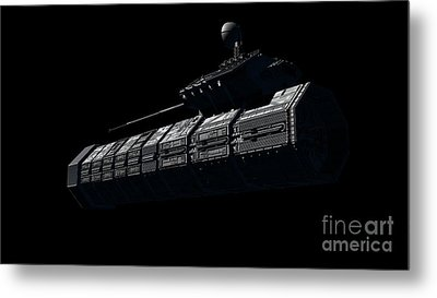 Chinese Orbital Weapons Platform Metal Print by Rhys Taylor