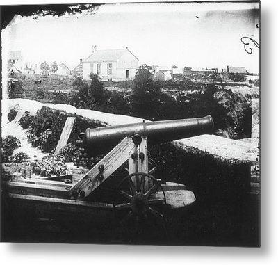 Civil War Cannon, 1862 Metal Print by Granger