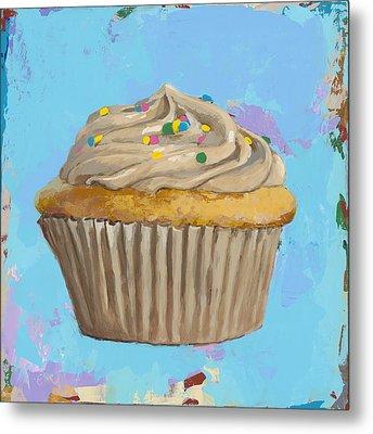 Cupcake #1 Metal Print by David Palmer