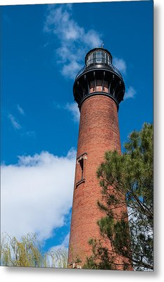 Metal Print featuring the photograph Currituck Beach Lighthouse by Gregg Southard