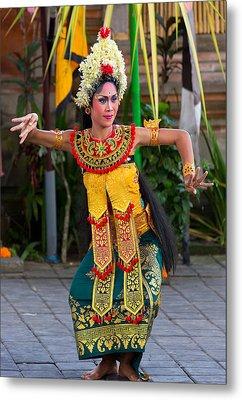 Dancer - Bali Metal Print