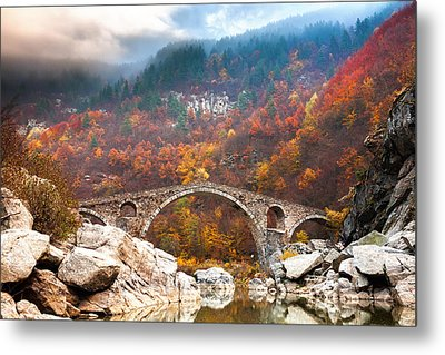 Devil's Bridge Metal Print by Evgeni Dinev