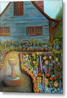 Dream Garden Metal Print by Laurie Morgan