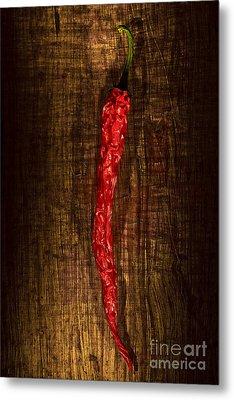 Dried Pepperoni Metal Print by Shawn Hempel