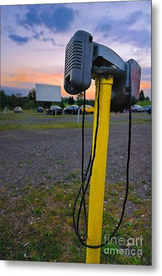 Dusk At The Drive In Movie Metal Print by Amy Cicconi