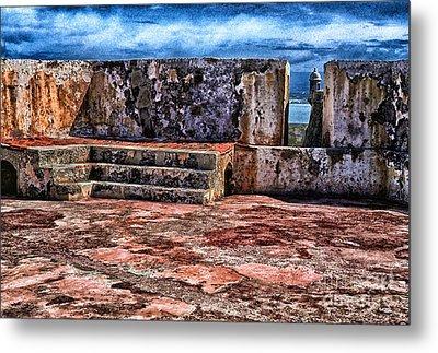 El Morro Fortress Old San Juan Metal Print by Thomas R Fletcher