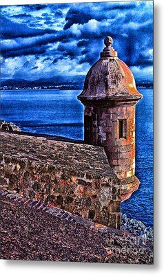 El Morro Fortress Metal Print by Thomas R Fletcher