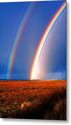 End Of The Rainbow Metal Print by Ron Regalado