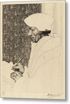 Félix Bracquemond French, 1833 - 1914 After Hans Holbein Metal Print
