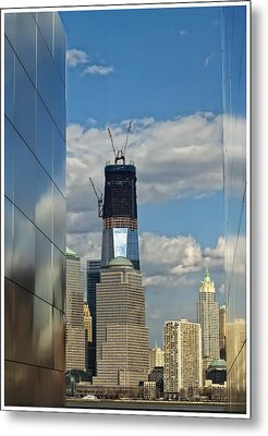 Freedom Tower Metal Print by Wayne Gill