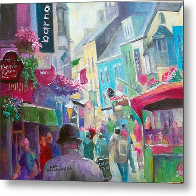 Galway  Ireland Metal Print by Paul Weerasekera