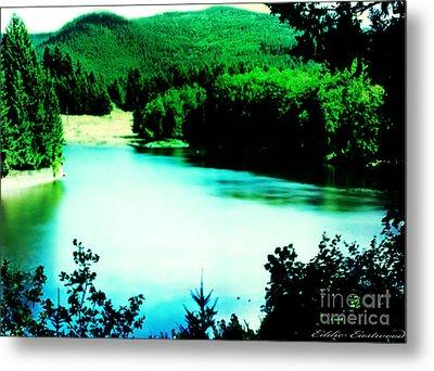 Gorge Waterway Victoria British Columbia Metal Print by Eddie Eastwood