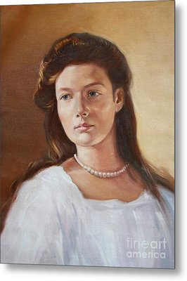 Grand Duchess Tatiana Nikolaevna Of Russia Metal Print by George Alexander