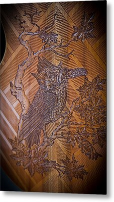 Metal Print featuring the photograph Guitar Carving - Bali by Matthew Onheiber