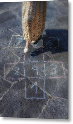 Hopscotch Metal Print by Joana Kruse