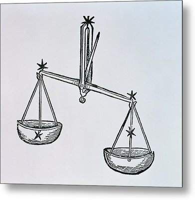 Libra Metal Print by Italian School