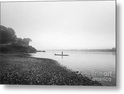Life At Mekong River Metal Print